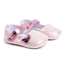Apawwa Children's Sneakers Velcro Baptism Pink Bellawa