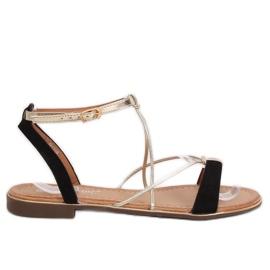 Black Women's sandals JH125P Black