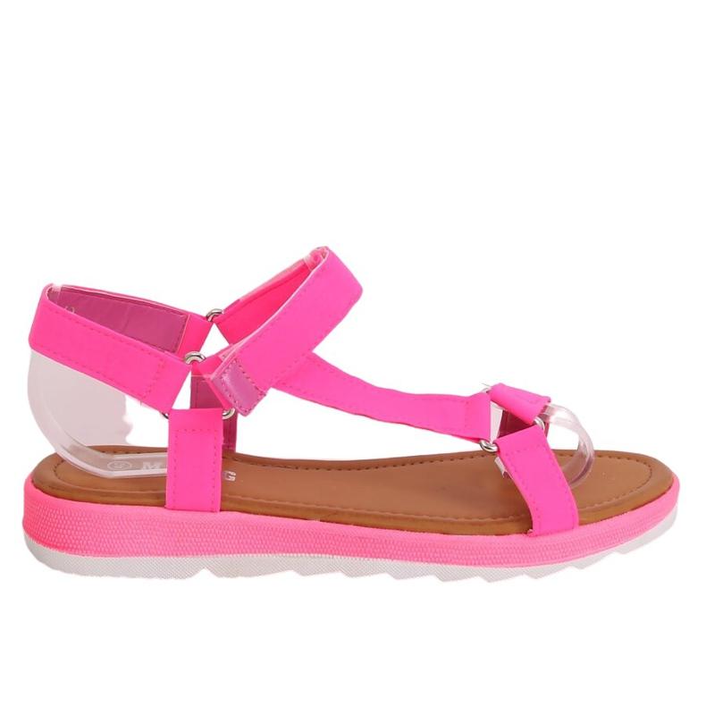 Pink Women's sandals WS9027 Rose