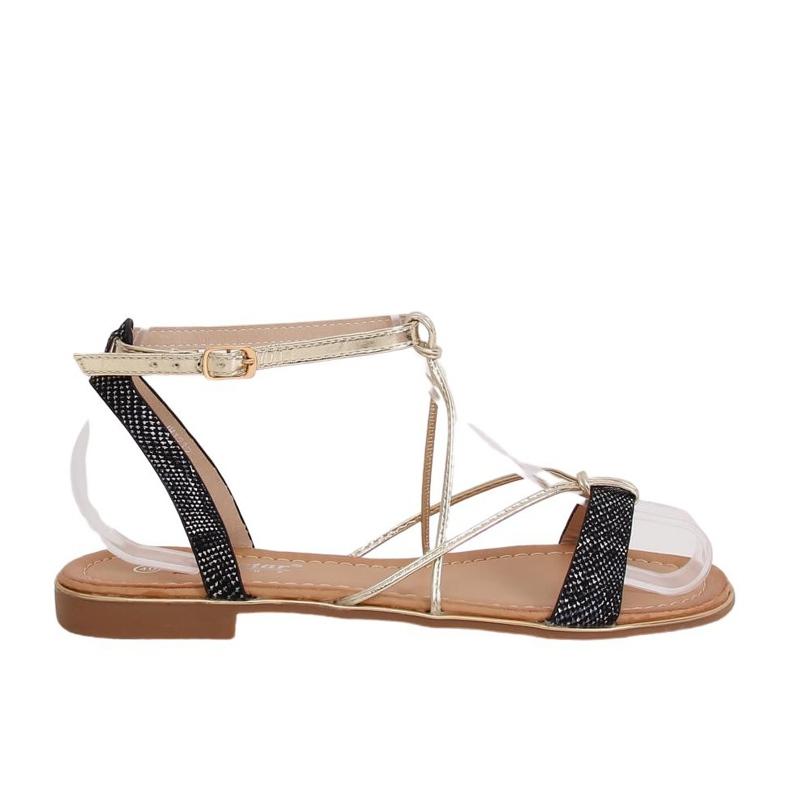 Black Women's sandals JH123P Black