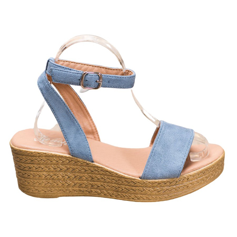 Renda Light Sandals On Wedge blue