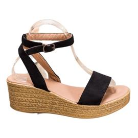 Renda Light Sandals On Wedge black