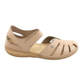Inblu women's shoes 158D124 beige