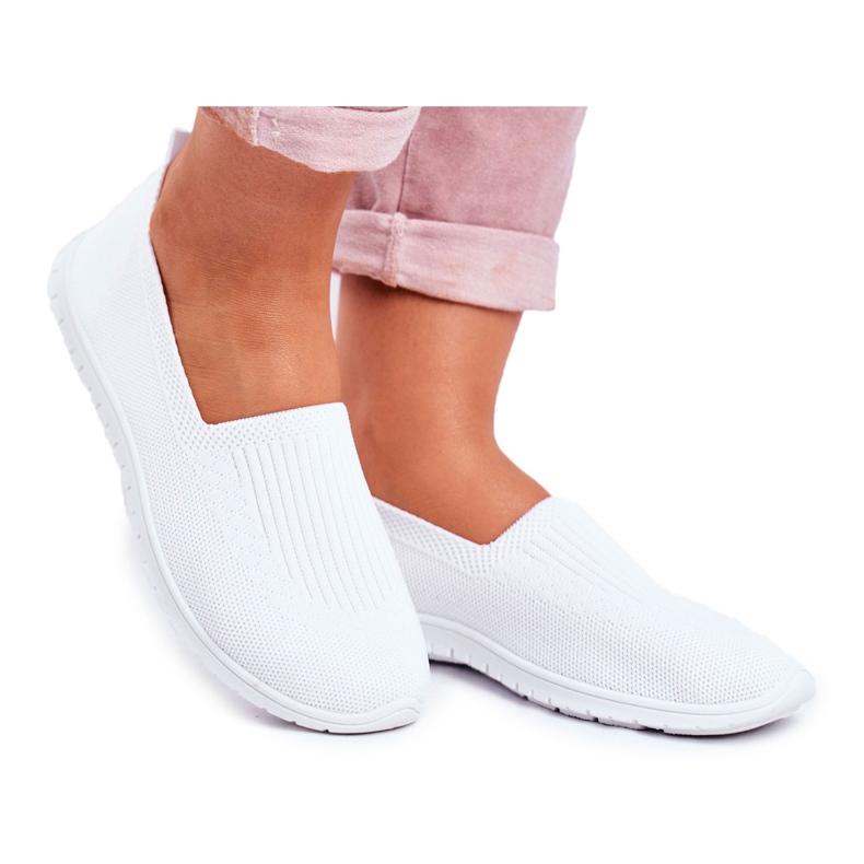 NEWS Kaontre Women's Slip-On White Sneakers