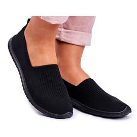 NEWS Kaontre Women's Slip-on Black Sneakers