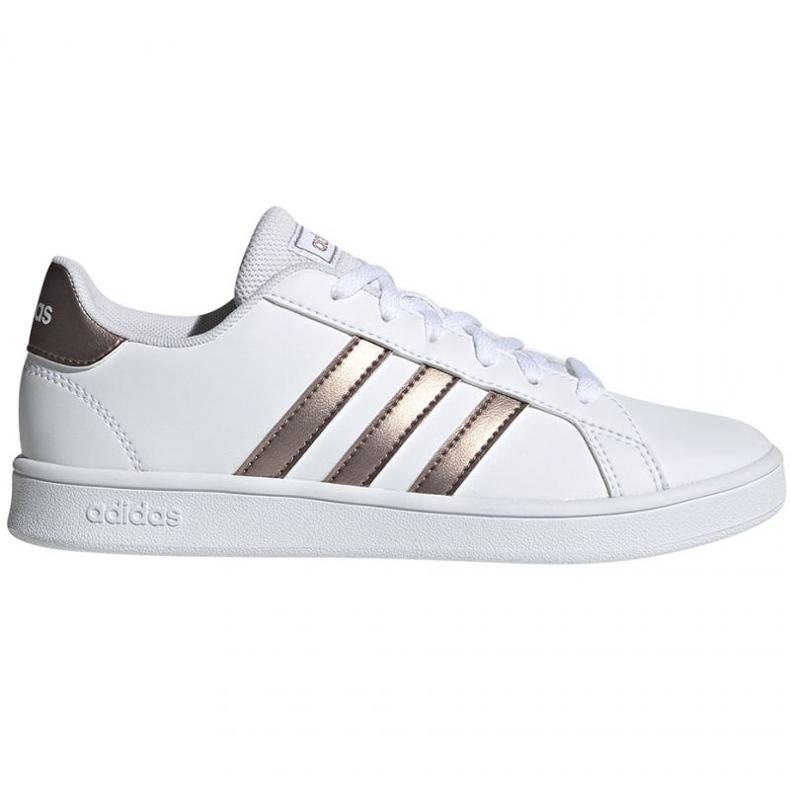 Shoes adidas Grand Court Jr EF0101 white black