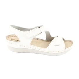 Inblu women's shoes sandals 158D113 white