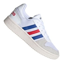 Adidas Hoops 2.0 Jr FW9120 shoes white grey