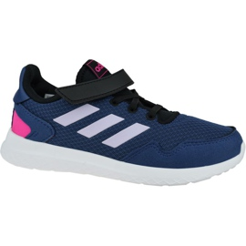 Shoes adidas Archivo C Jr EH0540 navy blue
