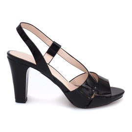 Painted Sandals TRA329 Black