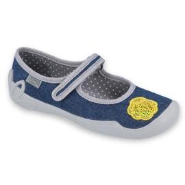 Befado children's shoes 114Y399 navy grey