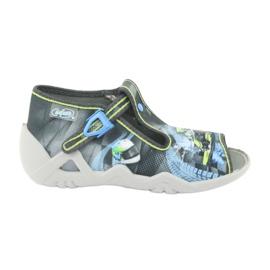 Befado children's shoes 217P102 blue grey green