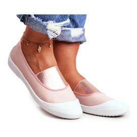 LU BOO Sneakers Slip On Slip-on Sneakers Pink Justy
