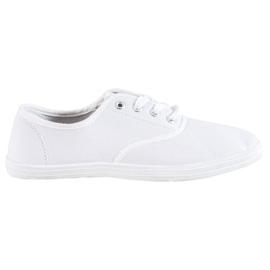 SHELOVET Light White Sneakers