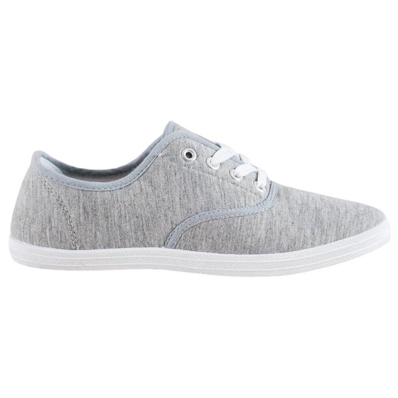 SHELOVET Light Gray Sneakers grey