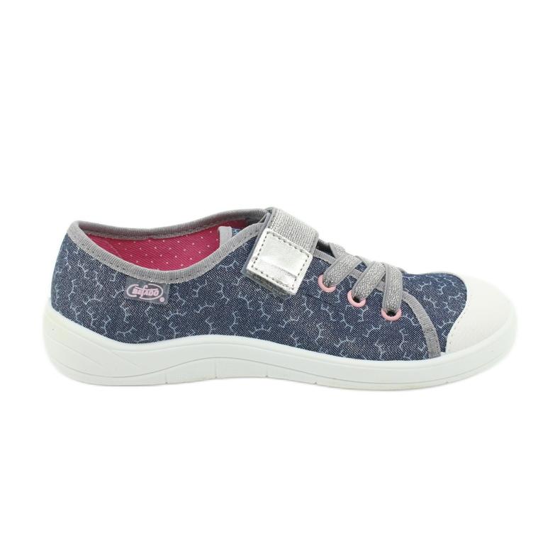 Befado children's shoes 251Y153 blue grey