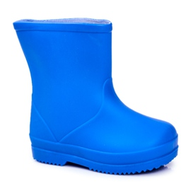 Children's Blue Classic Lullaby Rubber Galoshes