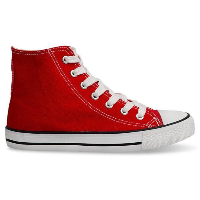 High Sneakers Konwers 8222 Red