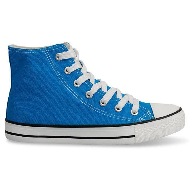 High Sneakers Konwers 8222 Sky Blue