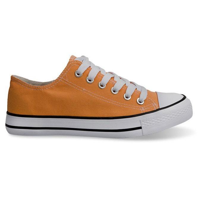 High Sneakers Konwers 8223 Peach yellow