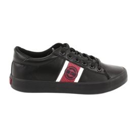 Black Big star GG174111 sneakers white red