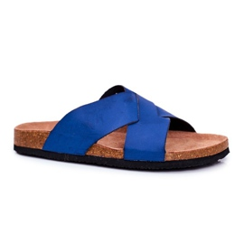 Men's Slippers Big Star Navy Blue