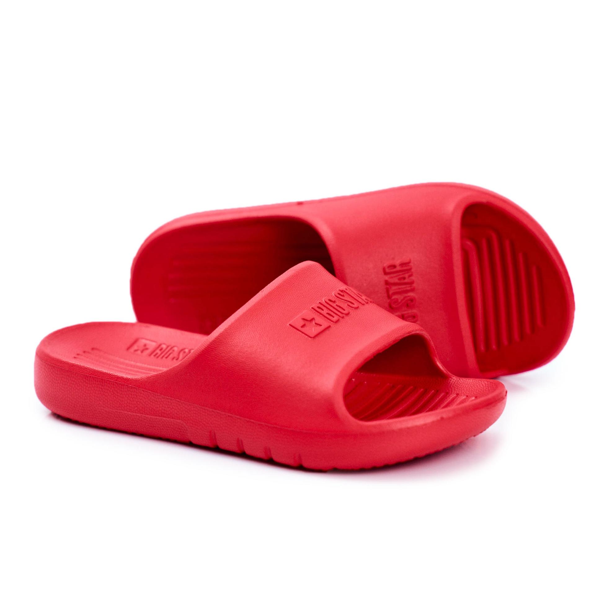 Red Slippers GG374809 - ButyModne.pl
