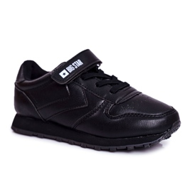 Sport Children's Shoes Big Star With Velcro Black GG374059