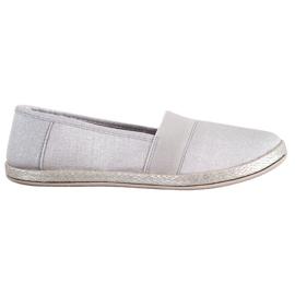 SHELOVET Stylish Slip-On Sneakers grey