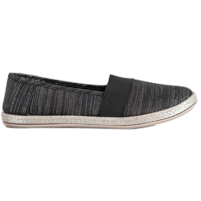 SHELOVET Stylish Slip-On Sneakers black
