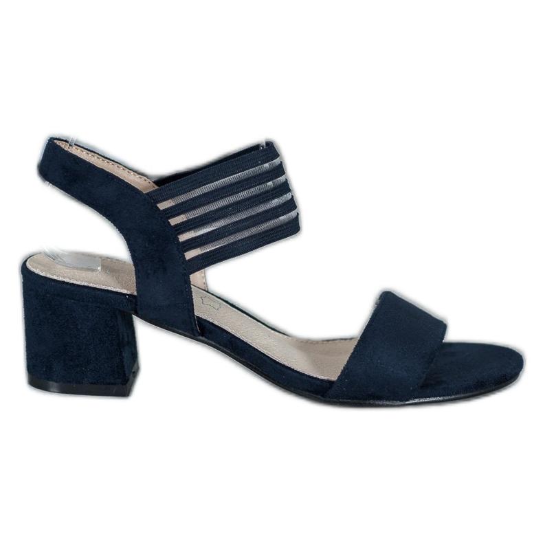 Filippo Sliding Sandals On A Bar blue