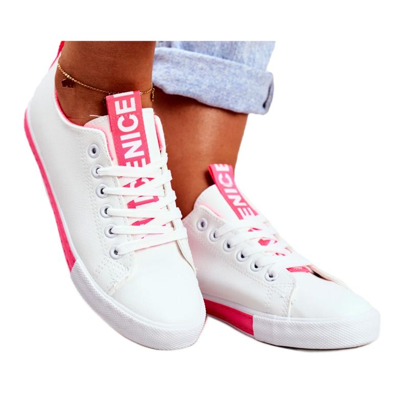 SEA Classic Women's Sneakers Fuchsia Ville white pink