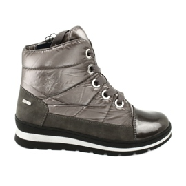 Brown snow boots, Caprice 26212 membrane