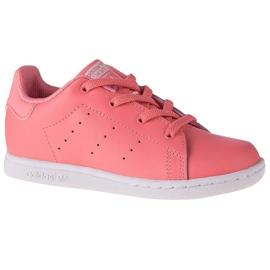 Adidas Stan Smith El K EF4928 shoes pink grey