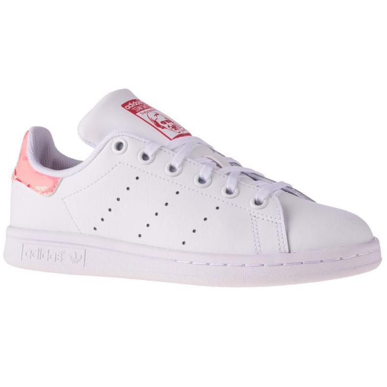 Adidas Stan Smith Jr FV7405 shoes white navy blue