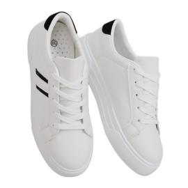White women's sneakers CC-20 Black