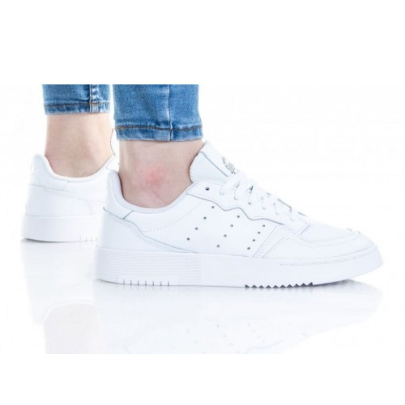 Adidas Supercourt Jr EE7726 shoes white yellow