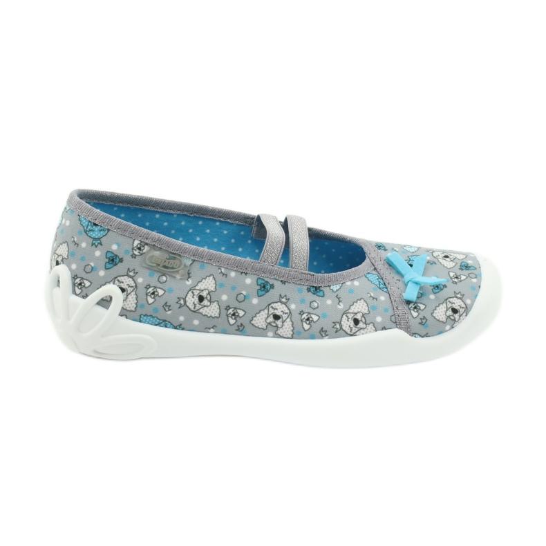 Befado children's shoes 116Y274 blue grey