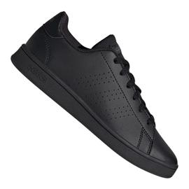 Adidas Advantage Jr EF0212 shoes black grey
