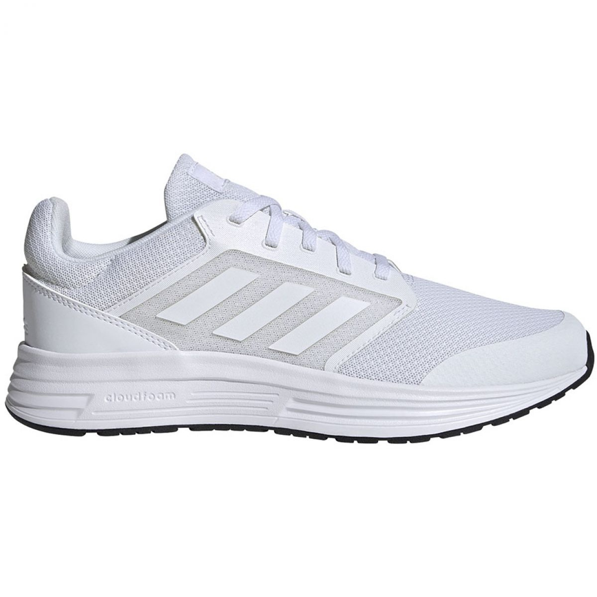 Me gusta Sábana Pisoteando  Adidas Galaxy 5 M FW5716 running shoes white - ButyModne.pl