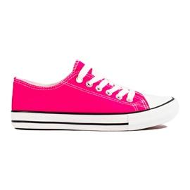 J. Star Classic Fuchsia Sneakers pink