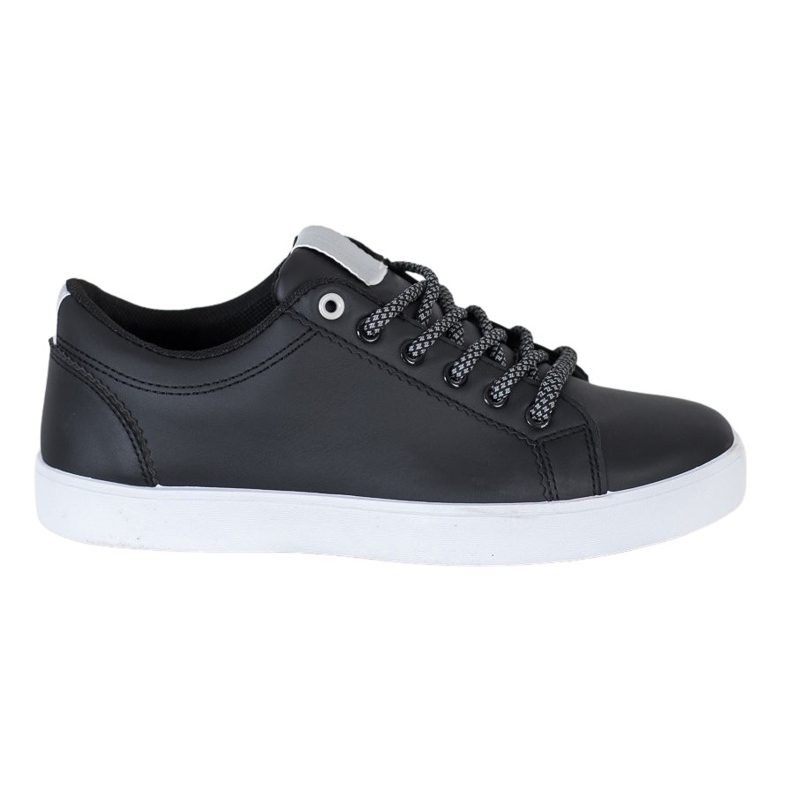 SHELOVET Sneakers With Decorative Laces black