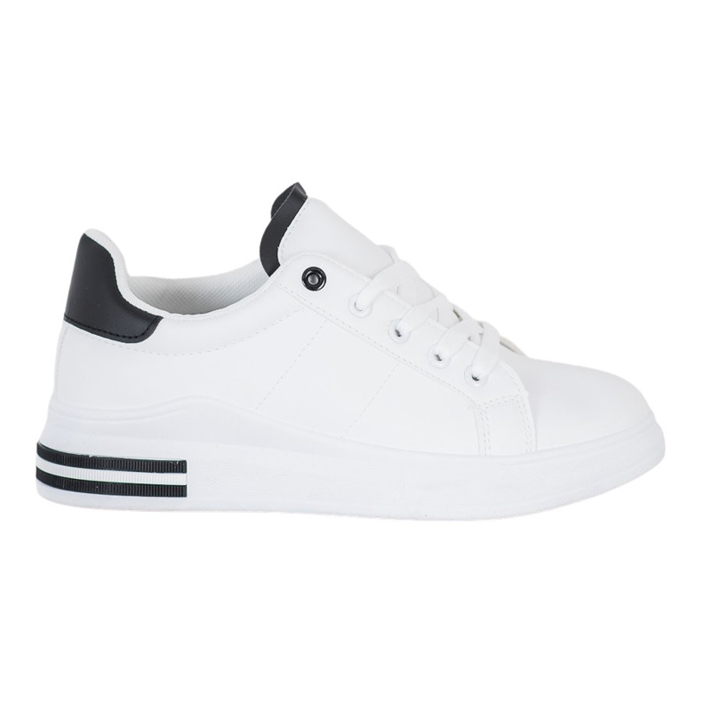 SHELOVET Fashionable Tied Sneakers white