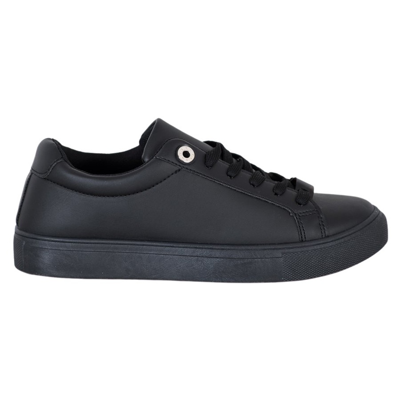 SHELOVET Sneakers With Eco Leather black