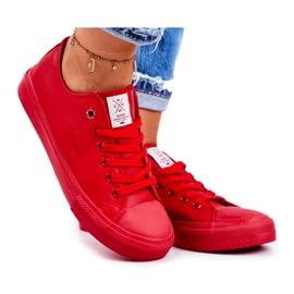Women's Sneakers Cross Jeans Red DD2R4032
