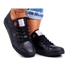 Women's Sneakers Cross Jeans Black DD2R4029