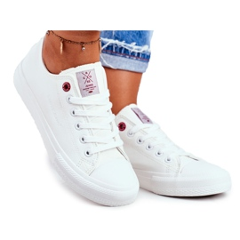 Women's Sneakers Cross Jeans White DD2R4030