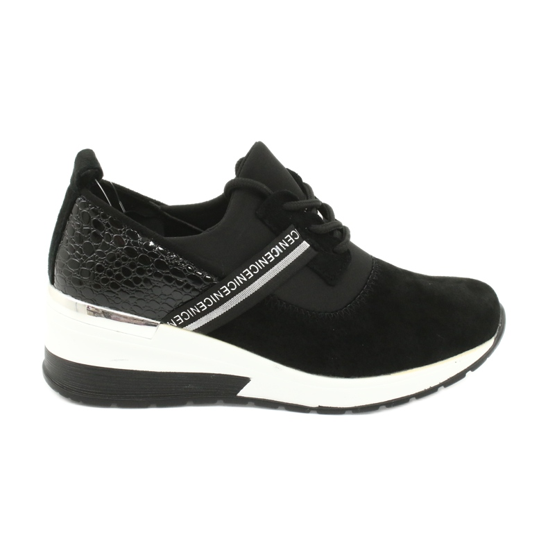 Filippo Slipony leather sports shoes DP1388 / 20 BK Nice