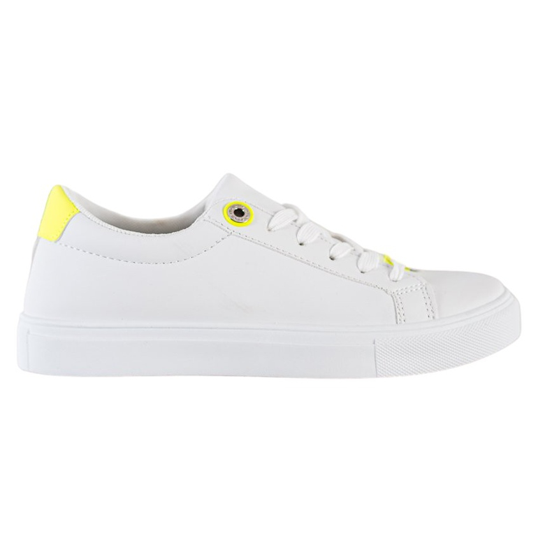 SHELOVET Sneakers With Eco Leather white