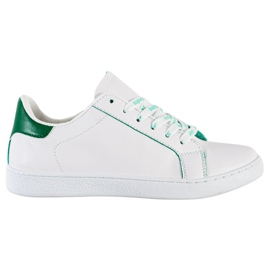 SHELOVET Fashionable Sports Shoes white green
